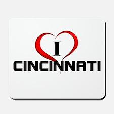 I <3 Cincinnati Fun Gear Mousepad