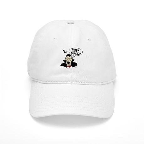 WHO said I SUCK? Mad Dracula Cap