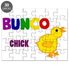 Funny Bunco Chick Art Puzzle