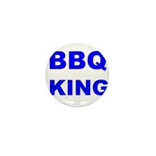 BBQ King Mini Button
