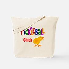 Funny Pickleball Chick Tote Bag