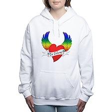 Cool Decolores Women's Hooded Sweatshirt