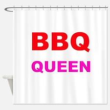 BBQ Queen Shower Curtain