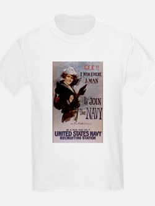Gee I wish I were a man... T-Shirt