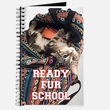Ready Fur School Kitten Journal