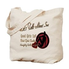 Let's Talk About Sex Series Tote Bag