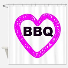 BBQ Shower Curtain