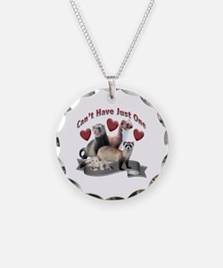 Can't have Just One Ferret Necklace