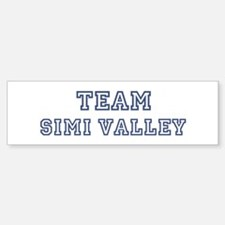 Team Simi Valley Bumper Bumper Bumper Sticker