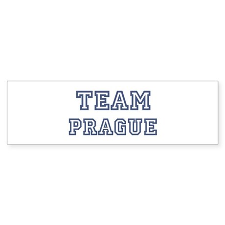 Team Prague Bumper Sticker