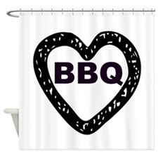 BBQ Shower Curtain