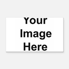 Add your own image Rectangle Car Magnet