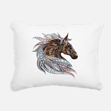 FallHorse Rectangular Canvas Pillow