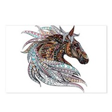 FallHorse Postcards (Package of 8)