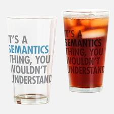 Semantics Thing Drinking Glass