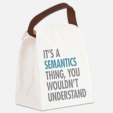 Semantics Thing Canvas Lunch Bag