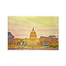 Unique American patriot Rectangle Magnet (100 pack)