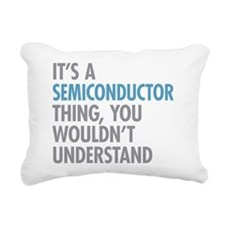 Semiconductor Thing Rectangular Canvas Pillow
