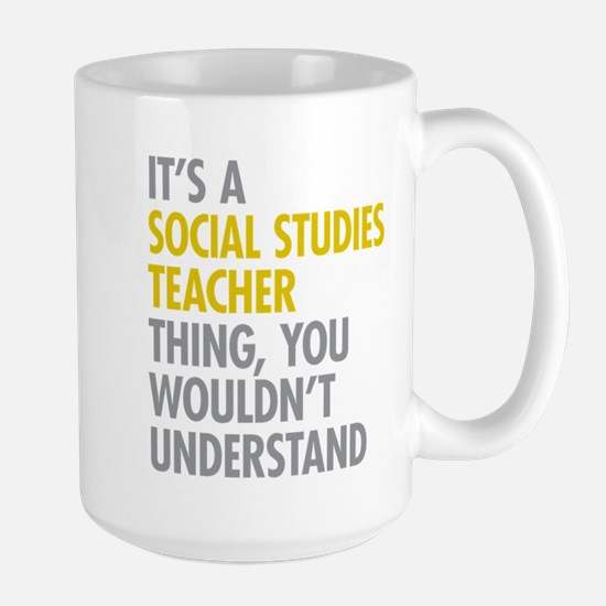 Social Studies Teacher Thing Mugs