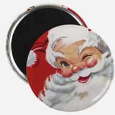 Vintage Christmas Jolly Santa Cla Magnets