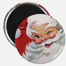 Vintage Christmas Jolly Santa Cla Magnets