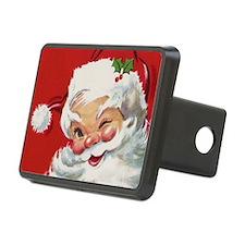 Vintage Christmas Jolly Sa Hitch Cover