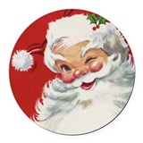 Christmas Round Car Magnets