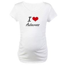 I Love Autocross artistic Design Shirt