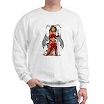 Devil Girl tattoo Sweatshirt