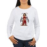 Devil Girl tattoo Women's Long Sleeve T-Shirt