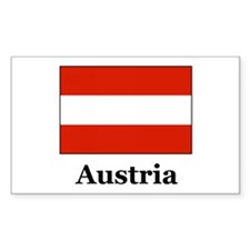 Austria Rectangle Decal