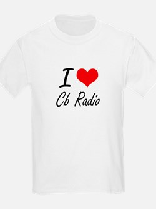 I Love Cb Radio artistic Design T-Shirt