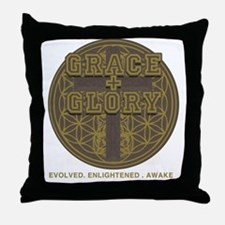 GRACE + GLORY Core T Throw Pillow