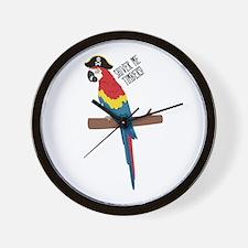 Shiver Me Timbers Wall Clock