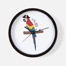 Ho Ho Ho Bird Wall Clock