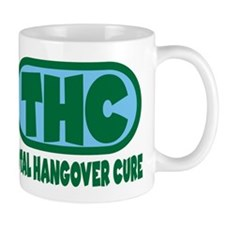 THC - Green/Blue logo Mug
