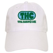 THC - Green/Blue logo Baseball Cap