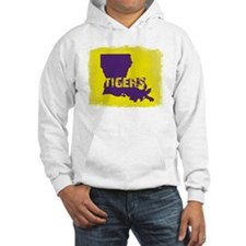 Louisiana Rustic Tigers Hoodie