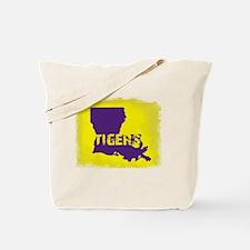 Louisiana Rustic Tigers Tote Bag