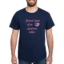 Proud Aunt/American Sailor T-Shirt