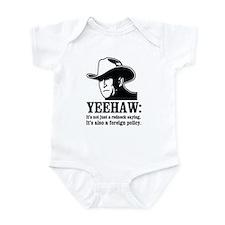 yeehaw Infant Bodysuit
