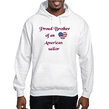 Proud Brother/American Sailor Hoodie