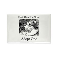 Until There Are None...Adopt Rectangle Magnet