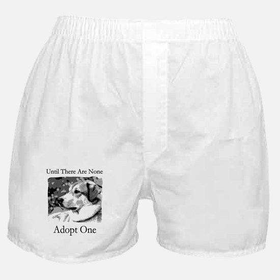 Until There Are None...Adopt Boxer Shorts