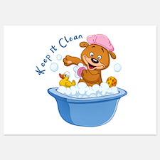 Keep It Clean - Invitations Invitations