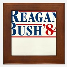Cute Reagan Framed Tile