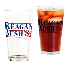 Unique Reagan bush 84 Drinking Glass