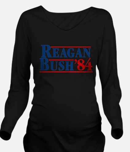 Cute Reagan Long Sleeve Maternity T-Shirt