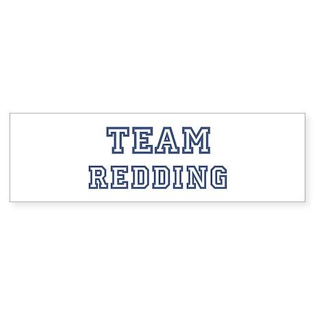 Team Redding Bumper Sticker