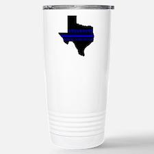Funny Texas police Travel Mug